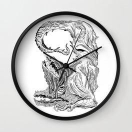 Rage & Grudge Demon Wall Clock