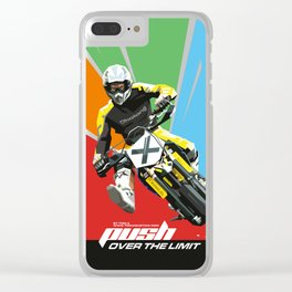 Motocross - Push Over The Limit Clear iPhone Case