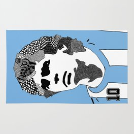 Diego Maradona Argentina Rug