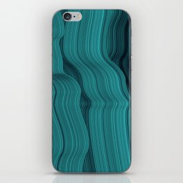 Blue waves iPhone Skin