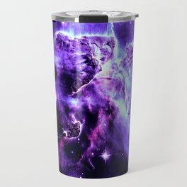 Vibrant Violet nebUla. Travel Mug