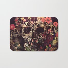 Bloom Skull Bath Mat
