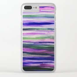 I Like to Mauve It Clear iPhone Case