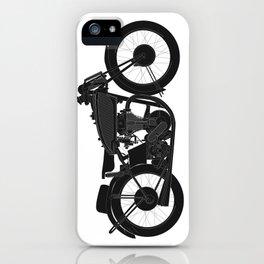Norton Print iPhone Case