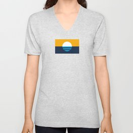 The People's Flag of Milwaukee Unisex V-Neck
