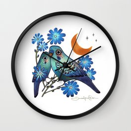 Sweet Chicory Wall Clock