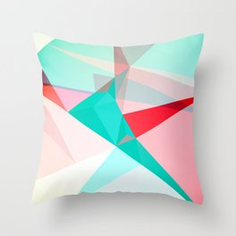 FRACTION - Abstract Graphic Iphone Case Throw Pillow