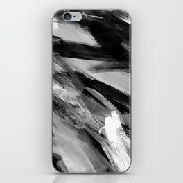 Abstract Artwork Greyscale #1 iPhone Skin