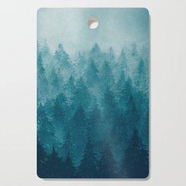 Misty Pine Forest Cutting Board
