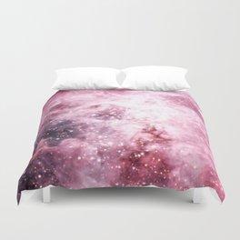 Pink Tarantuala Nebula Core Duvet Cover