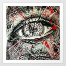 Seeing Eye Art Print
