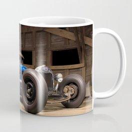 Rusty Hot Rod In Barn Ultra HD Coffee Mug