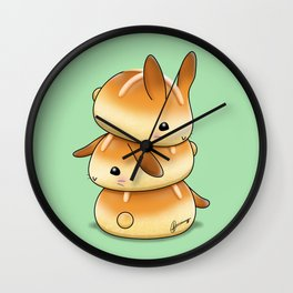 Hot Cross Bunbuns Wall Clock