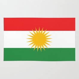 Kurdistan flag country flag Rug