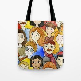 Crowd Tote Bag