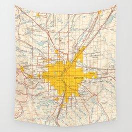 Denver Wall Tapestries Society - Denver on a us map