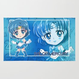 Chibi Sailor Mercury Rug