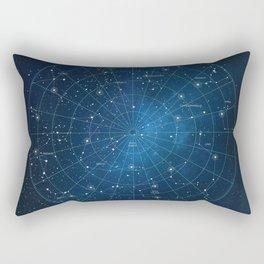 Constellation Star Chart Rectangular Pillow