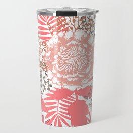 Pink peonies. Travel Mug