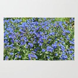 Field of Blue Rug