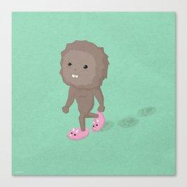 Accidental Legends: Bigfoot Canvas Print
