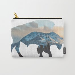 Bison Mountain Carry-All Pouch