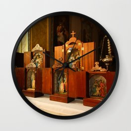 Holy Family shrines Wall Clock