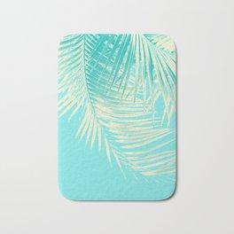 Palm Leaves Summer Vibes #4 #tropical #decor #art #society6 Bath Mat