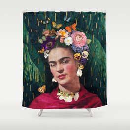 Frida Kahlo :: World Women's Day Shower Curtain