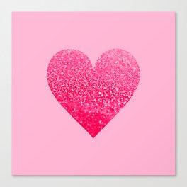 PINK PINK HEART Canvas Print