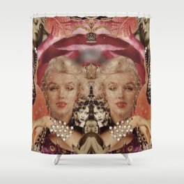 Marilyn Collage Shower Curtain