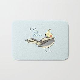 Live, Love, Preen Bath Mat