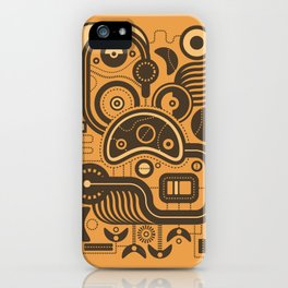 Nonsensical Doodle #3 iPhone Case