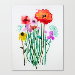 Sofia Flowers Canvas Print