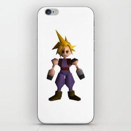 Cloud Low Poly - Final Fantasy VII iPhone Skin