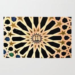 Azulejo de La Alhambra Rug