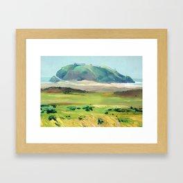 Seal Hill Framed Art Print