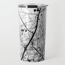 Nature in black and white Travel Mug
