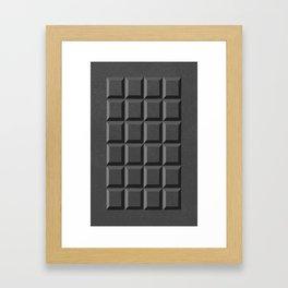 50 Shades of Choc Framed Art Print