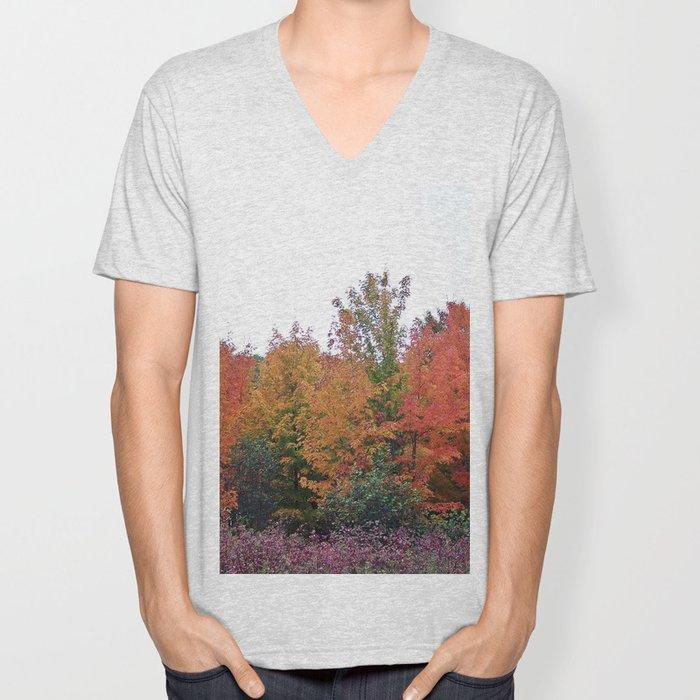Autumn's Beauty Unisex V-Neck