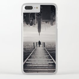Follow Your Dreams Clear iPhone Case