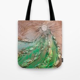 Twisted Cactus Tote Bag