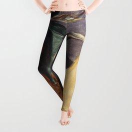 Edvard Munch - Separation Leggings