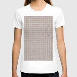 Pattern of diamonds with soft colors T-shirt