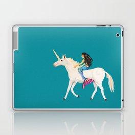 To the Land of Mermaids and Unicorns Laptop & iPad Skin