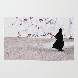 Arabs crossing Rug