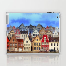 House, Bruges, Belgium Laptop & iPad Skin