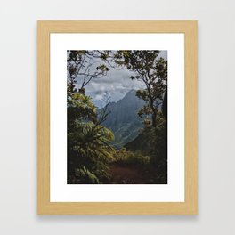 The Garden Isle Framed Art Print