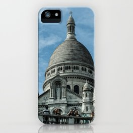 Basilique du Sacre-Coeur (Montmartre) iPhone Case