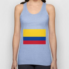 Colombia Flag Unisex Tank Top